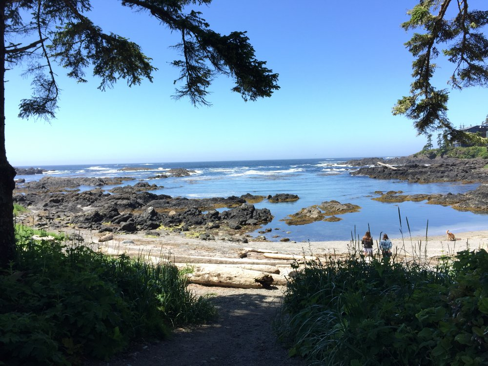 Big Beach, Ucluelet, BC.