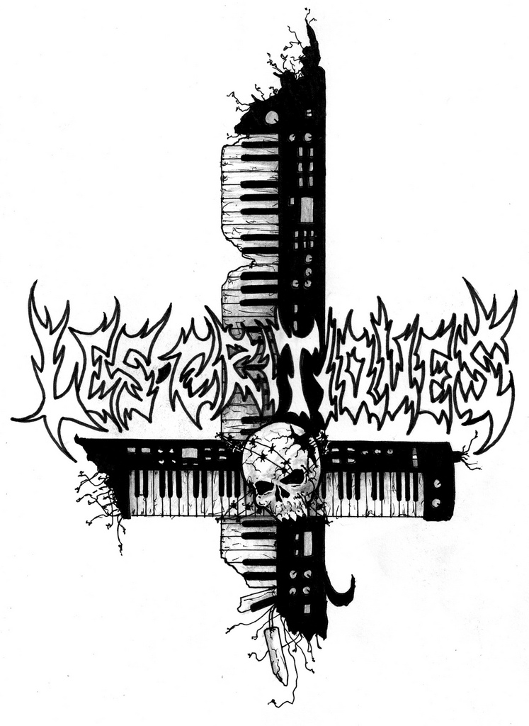 Logo design for the band Les Critiques