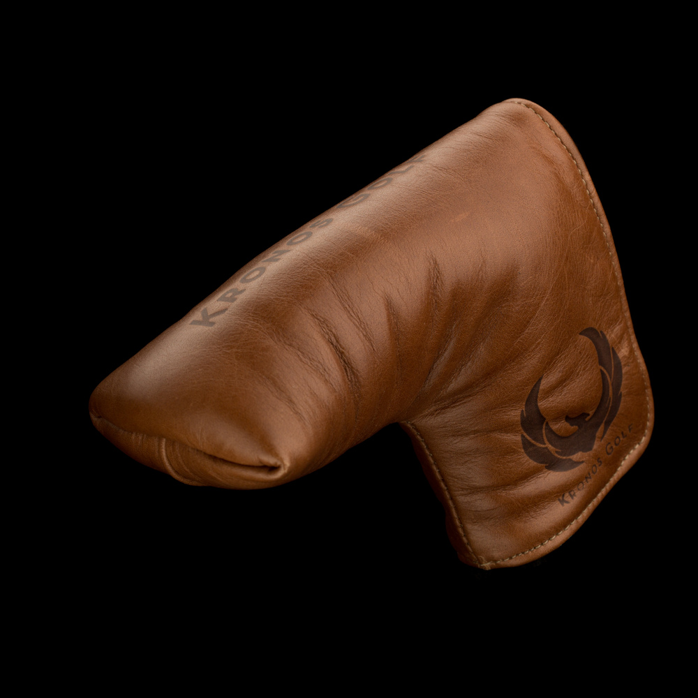 Leather Head Cover - Blade Dark