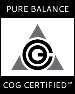 All Kronos putters are Pure Balance COG Certified™