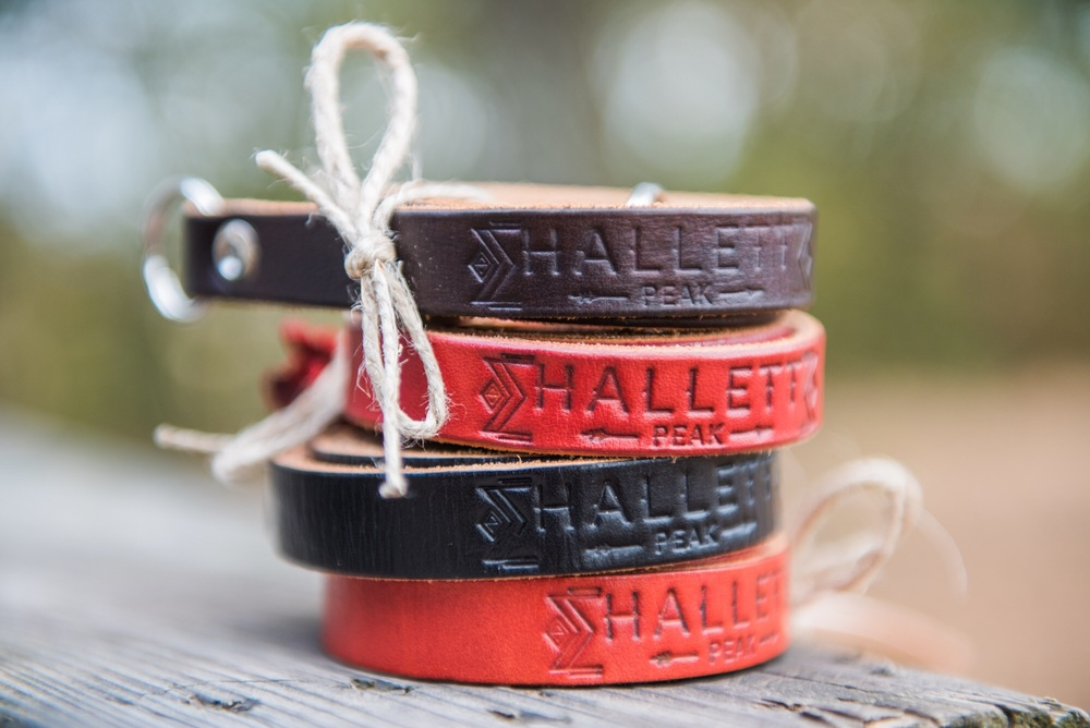 Hallett Peak camera straps are hand crafted by men with strong hands and soft hearts.
