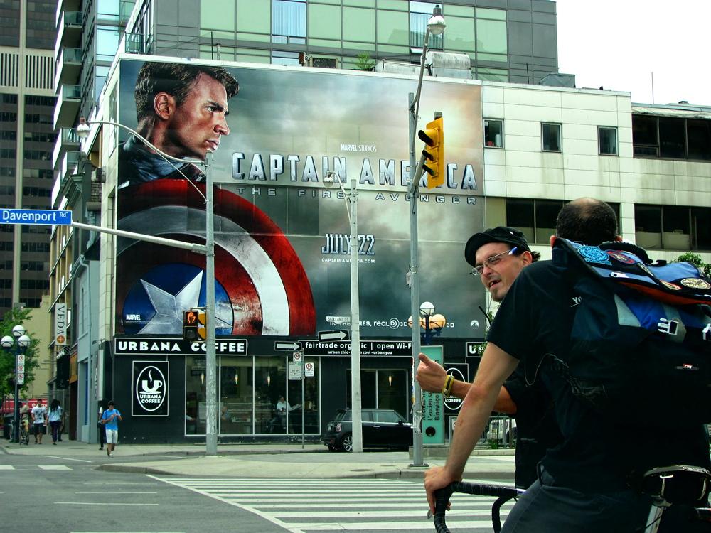 Captain America   Toronto, Ontario 2011