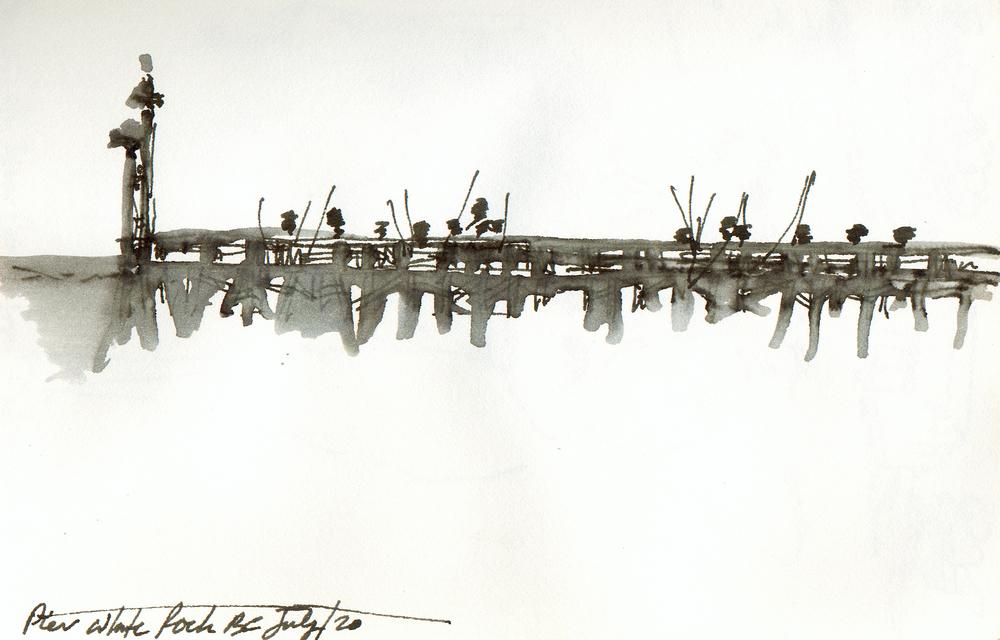 Fishing Wharf  Whiterock, BC 2000