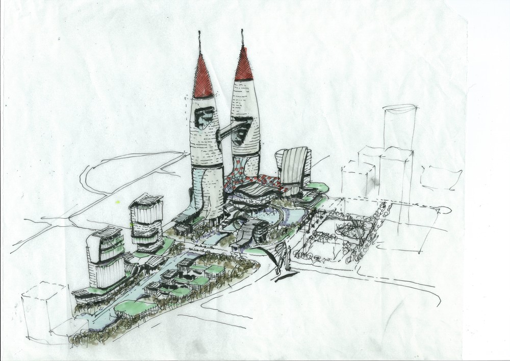 VH Design Concept Drawing