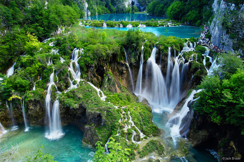 Plitvice Waterfalls, Jezera National Park, Croatia