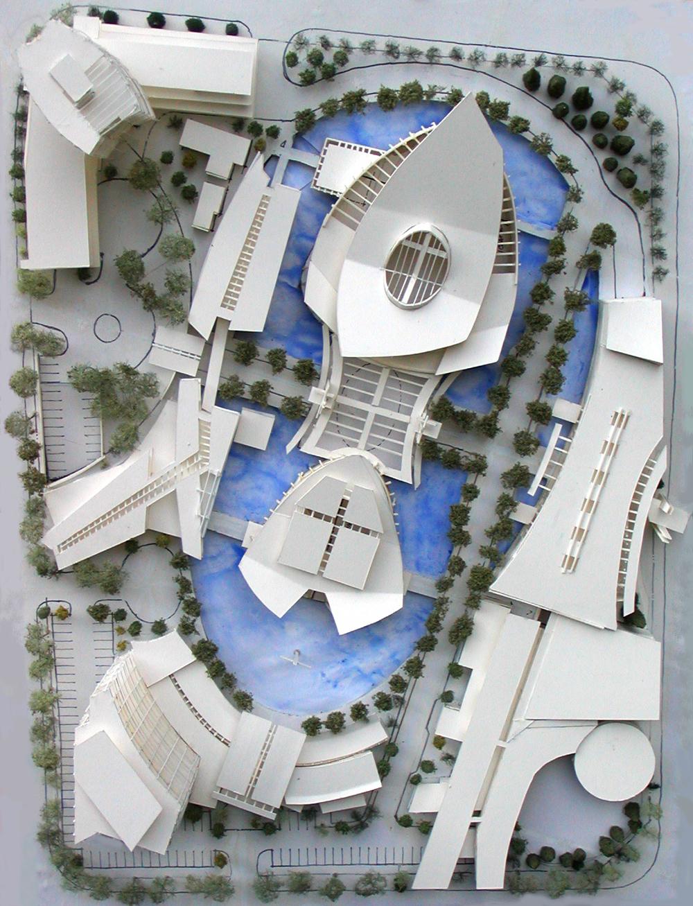 Aerial Model Plan View