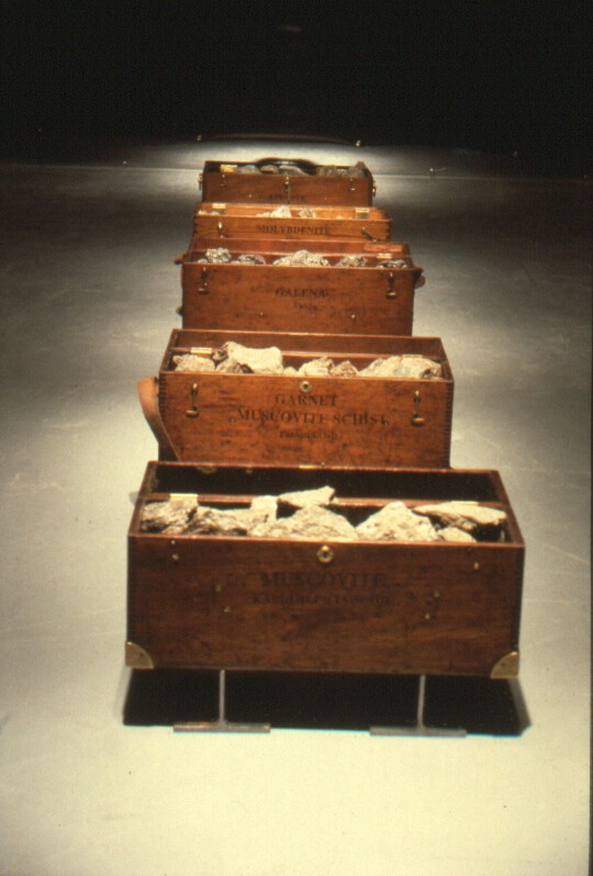 Floor Mounted Mineral Boxes 2 - Detail