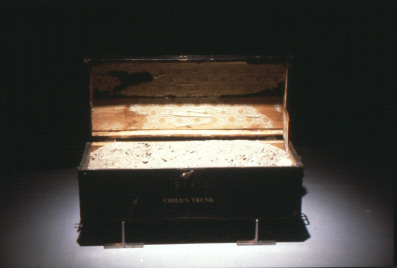 View of Child's Trunk