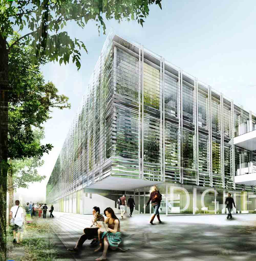 Precedent Example - Behnisch Architects - Digiteo Labs, Paris, France