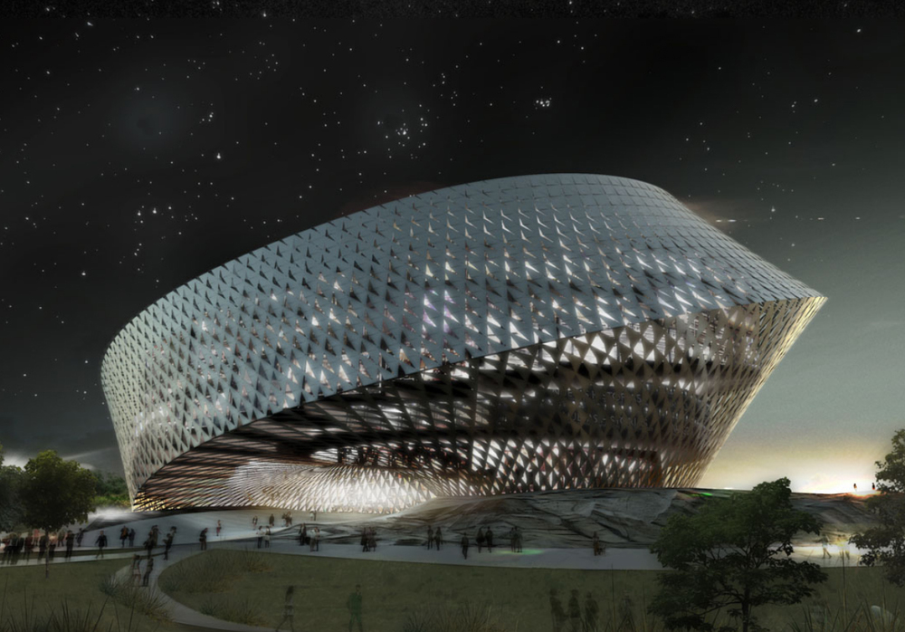 Precedent Example - BIG Architects - Astana National Library, Kazakhstan