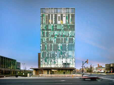Precedent Example - Hariri Pontarini Architects - School of Pharmacy, Waterloo, Ontario