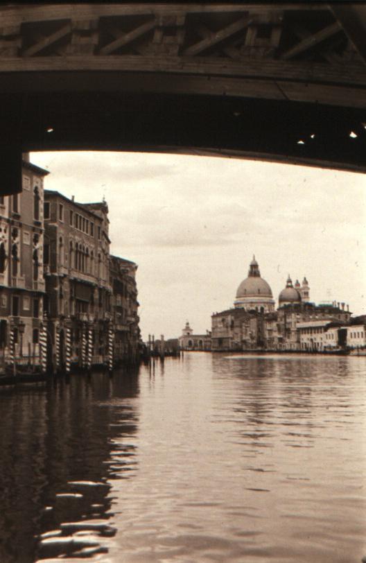 Under the Academia Bridge Venice VHS 1994