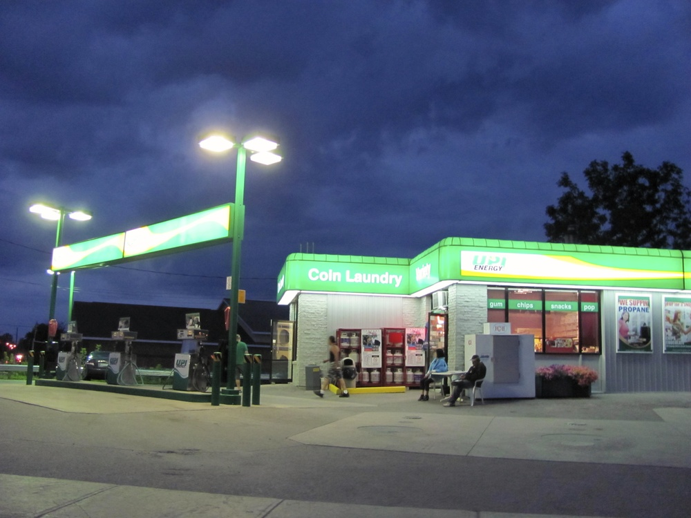 Gas Station, Fenlon Falls, Ontario VHS 2011