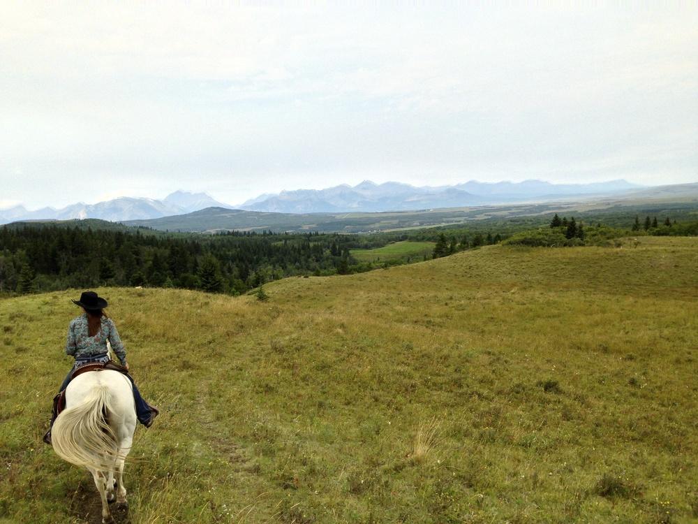 Cow Girl, Waterton, Alberta VHS 2013