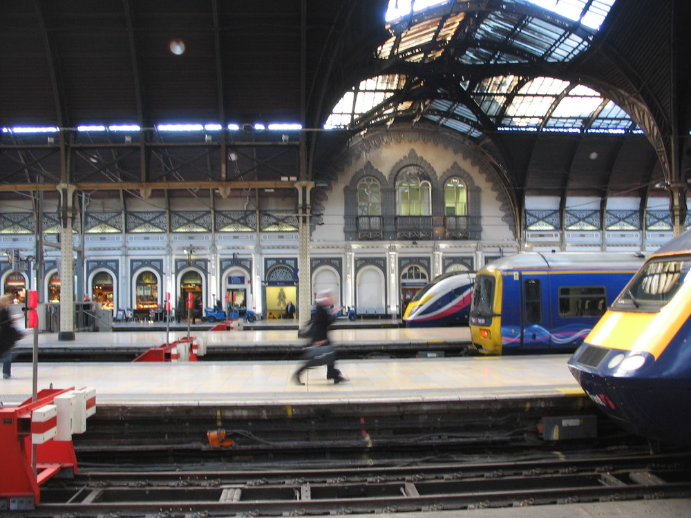 Paddington Station, London, UK VHS 2009