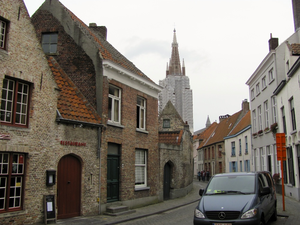 Residential Street, Bruges, Belgium, VHS 2010