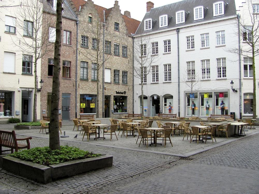 Square, Bruges, Belgium, VHS 2010