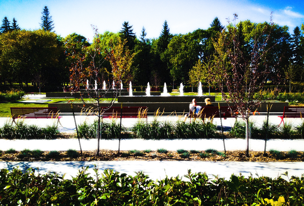 Formal Garden, Borden Park, Edmonton, Alberta, 2014
