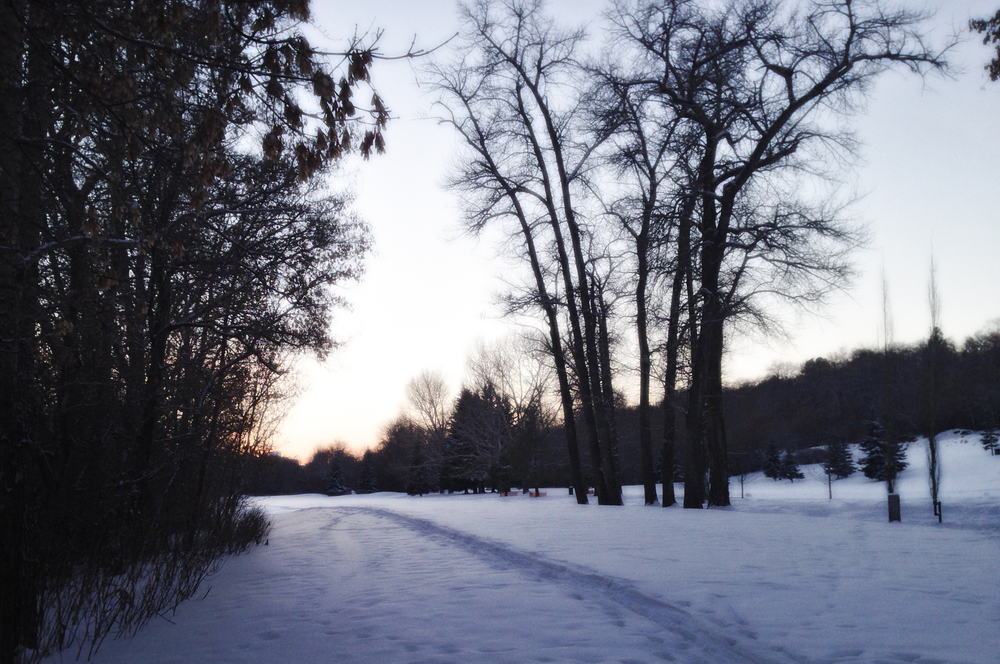 Cross Country  Highlands Golf Course Edmonton, Alberta, VHS January 2015