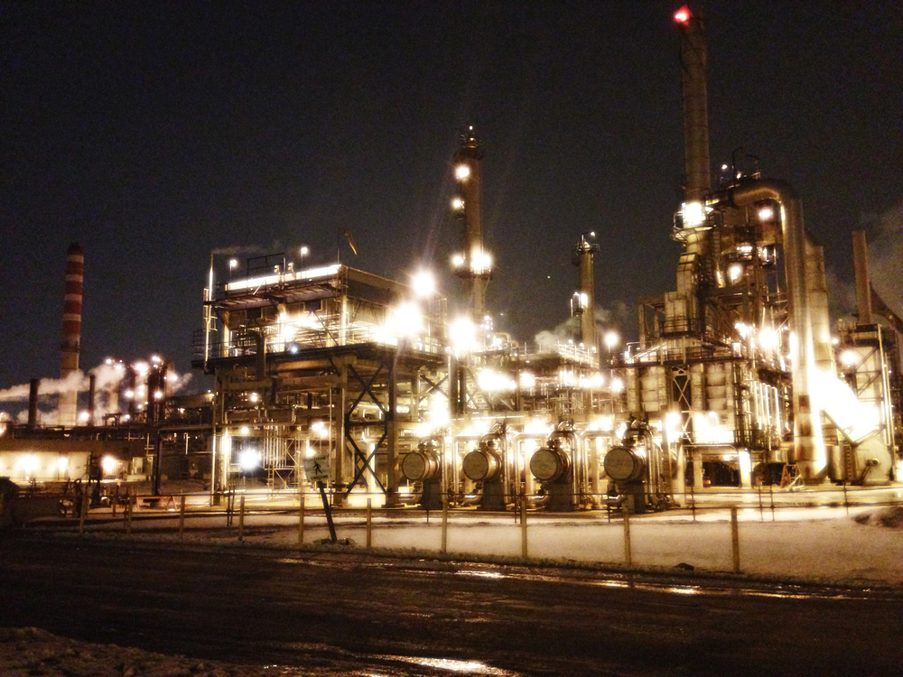 Suncor Night  Sherwood Park, Edmonton, Alberta, VHS February 2015