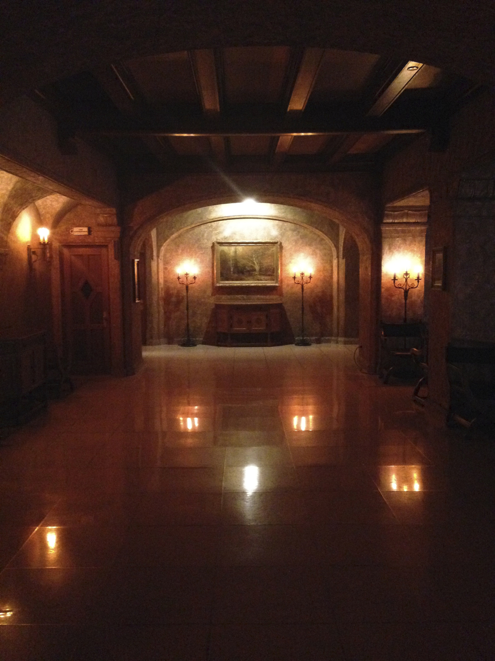 Hall at Knight  Banff Springs Hotel, Banff, Alberta, VHS April 2015