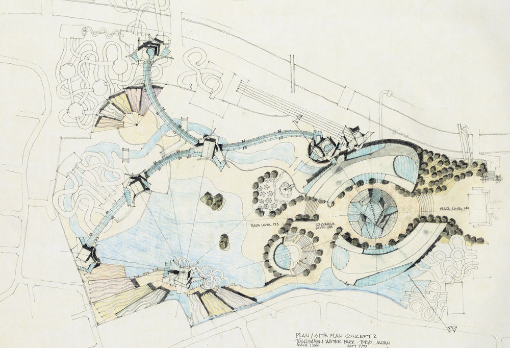 Toshimaen Urban Park - Overall Plan