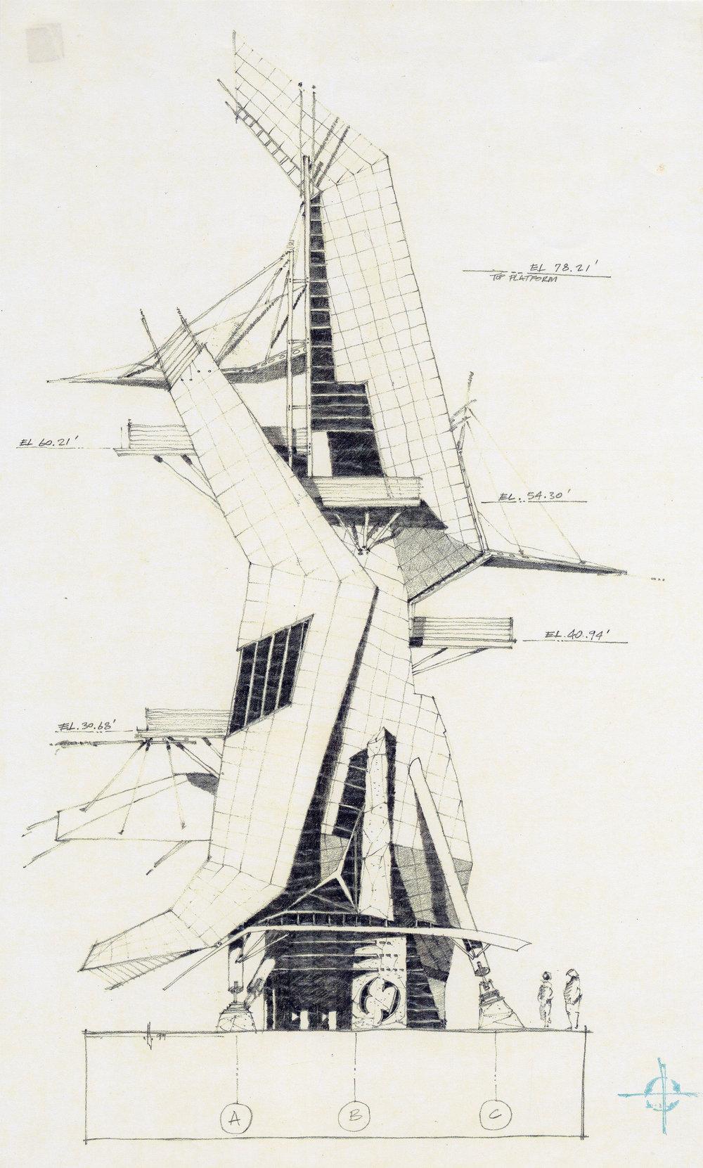 Lantern - High speed water slide towers