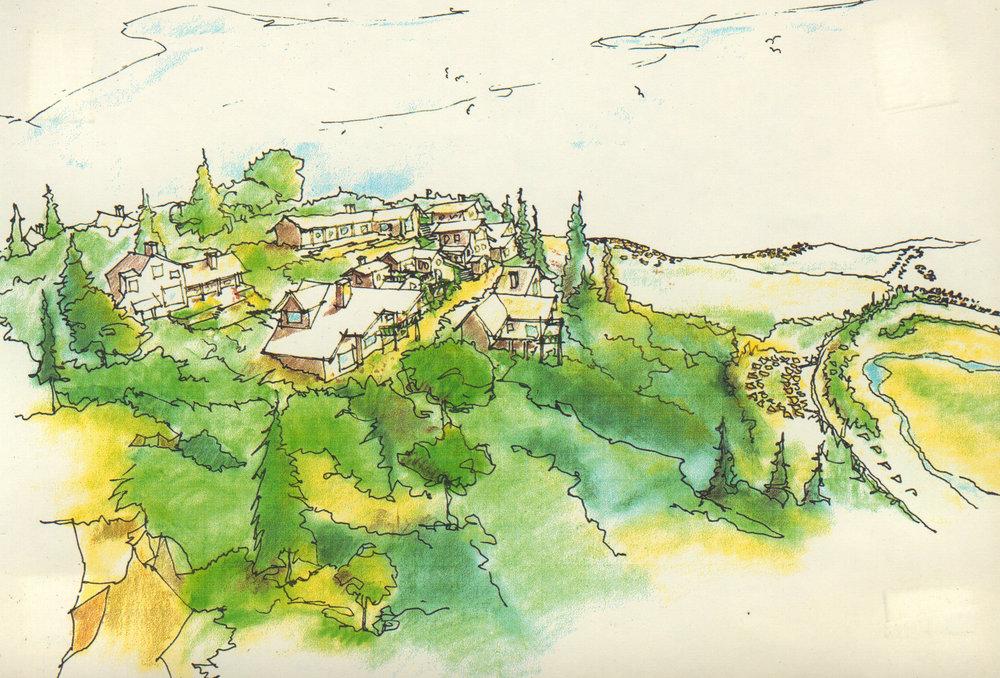 Hillside Residential View
