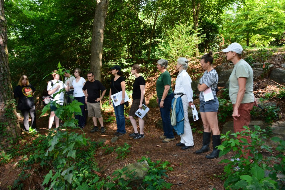 A trail tour in Summer 2014