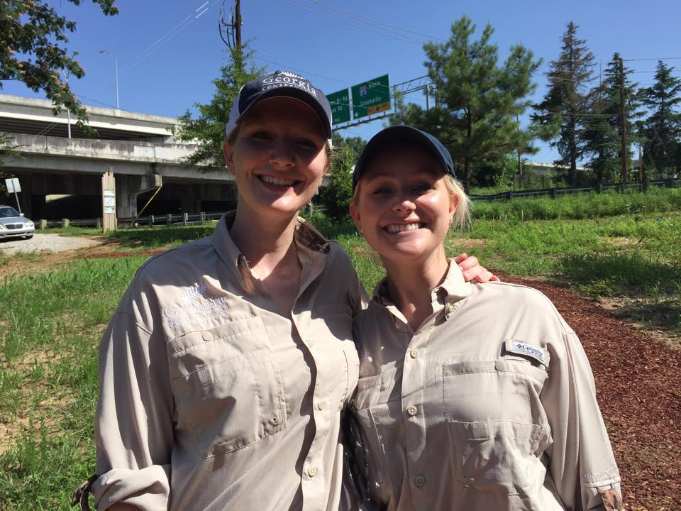 Johanna McCreahan & Leah Barnett make Ga. Conservancy greener.