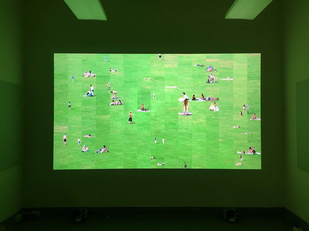 Installation view of   Green Play  at the  2016 iDMAa exhibition