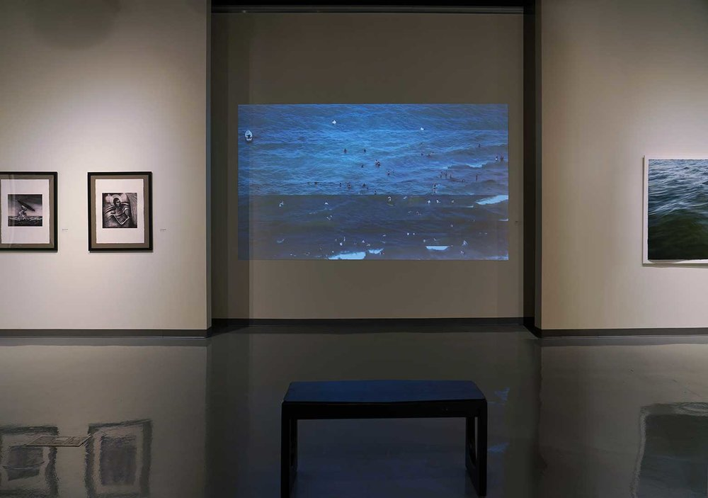 Installation view at the Spartanburg Art Museum
