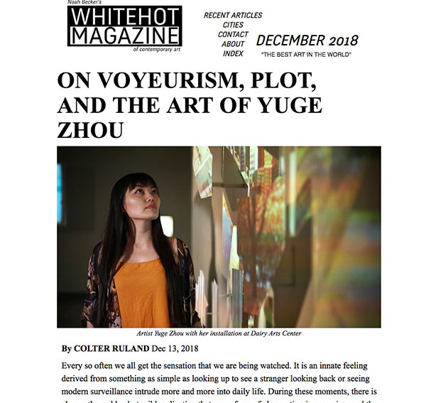 Whitehot Magazine of Contemporary Art