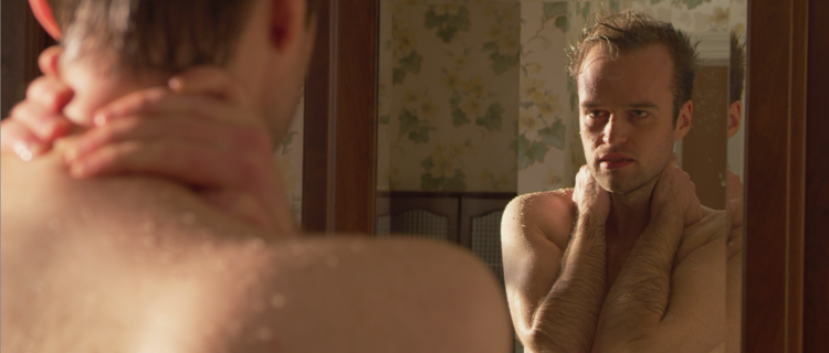 Malcolm Mills as Joshua in Samantha Kolesnik's  Mama's Boy (2018)
