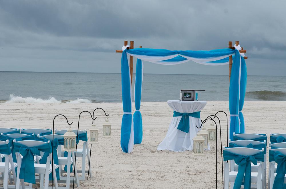 Wedding Cake Gulf Shores Al Cakes Flowers Sand Dollar Beach