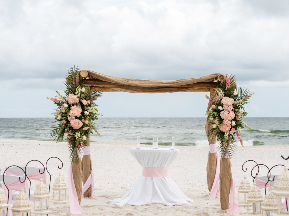 Orange Beach, Beach House Wedding and Reception,