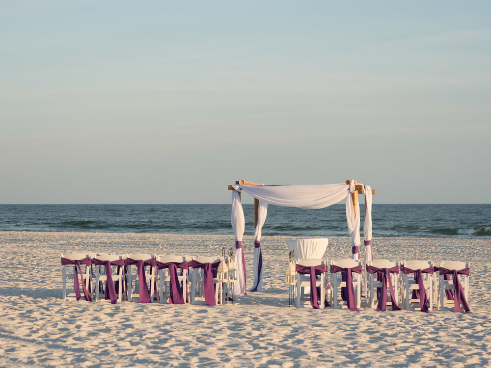 Gulf State Park Wedding and Reception at the Beach Pavilion.