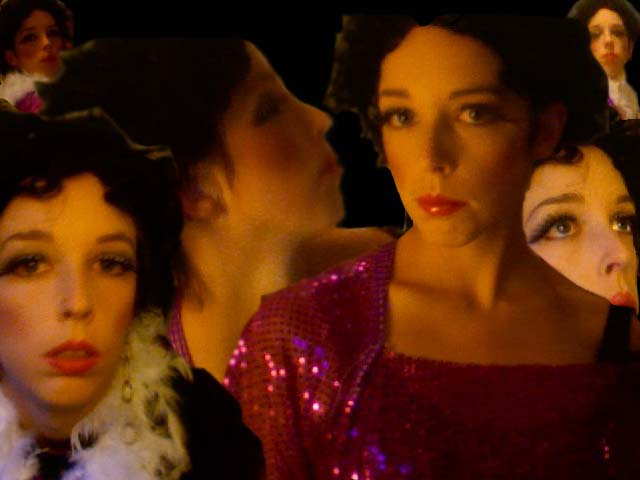 a compilation i made of pictures of me in my halloween costume    i shouldn't have to tell you i'm liza minelli