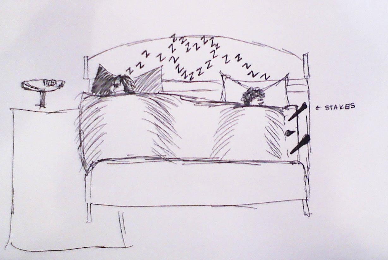 part 2.   —-   i don't know why sleep-matt is so much bigger than sleep-britt