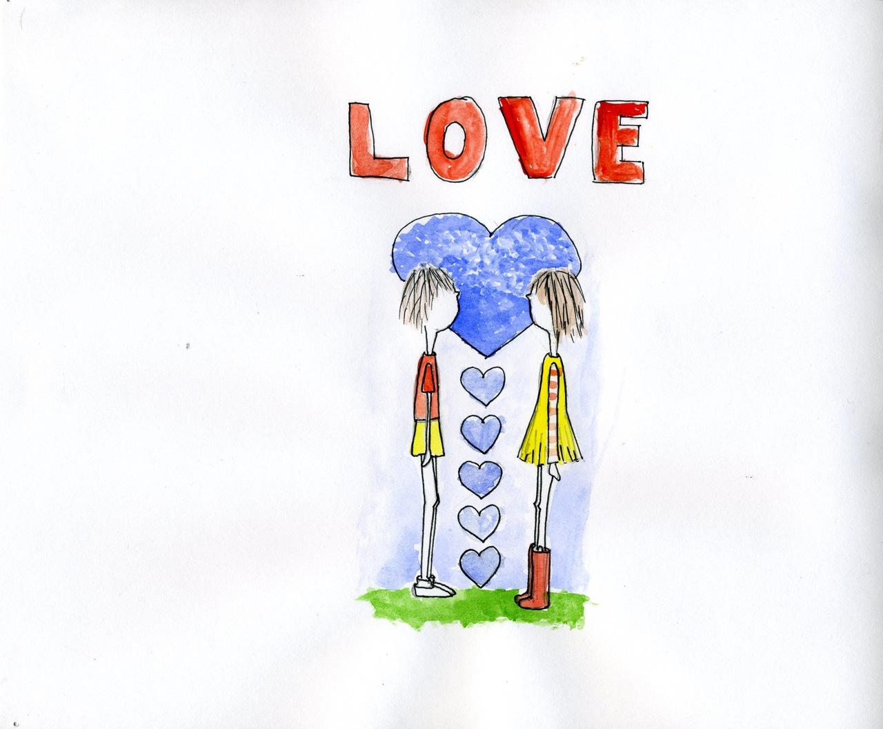 """""""love""""   (britt original)"""
