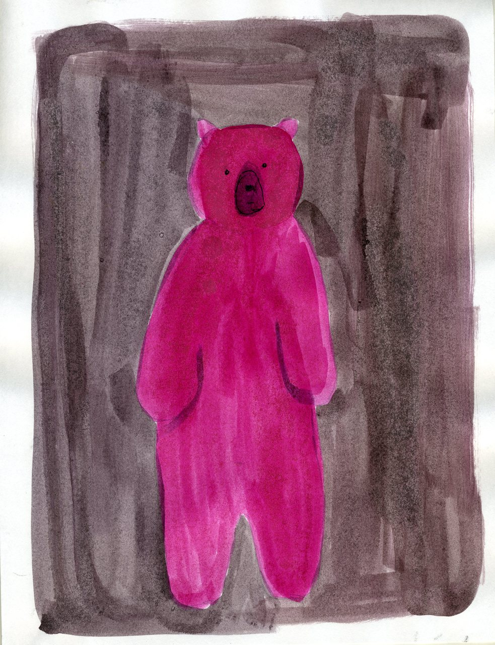 pink bear    (britt original)