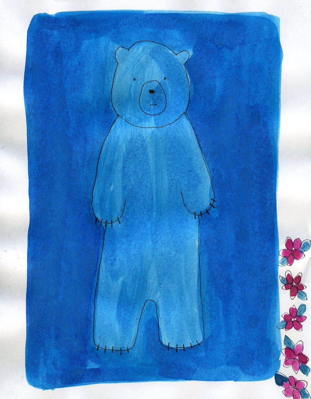 blue bear    (britt original)