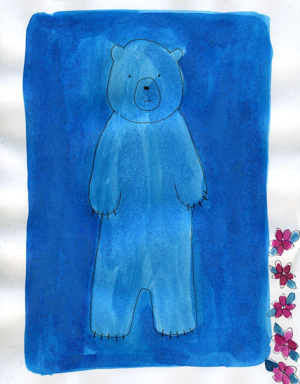 blue bear    (britt original)