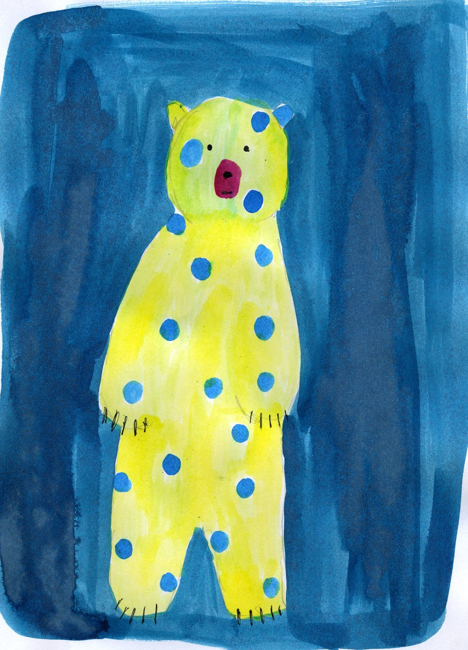 spotted bear    (britt original)