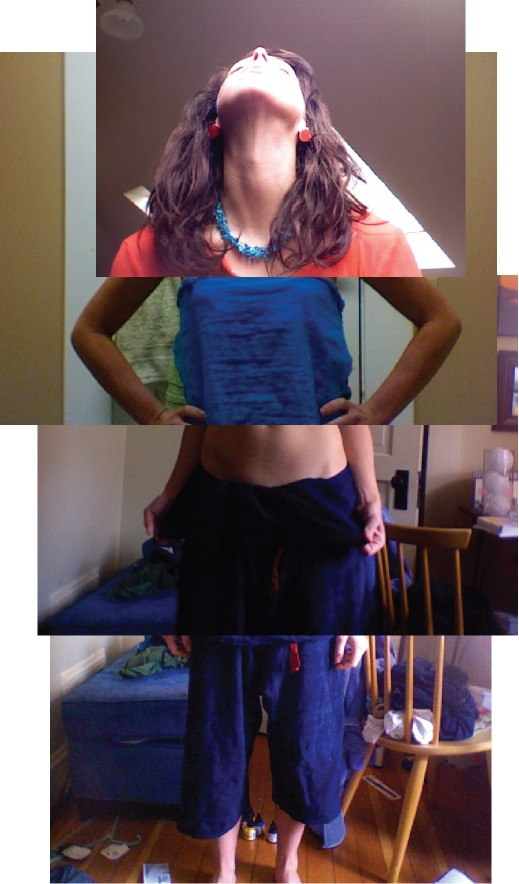 i often use photobooth to get dressed