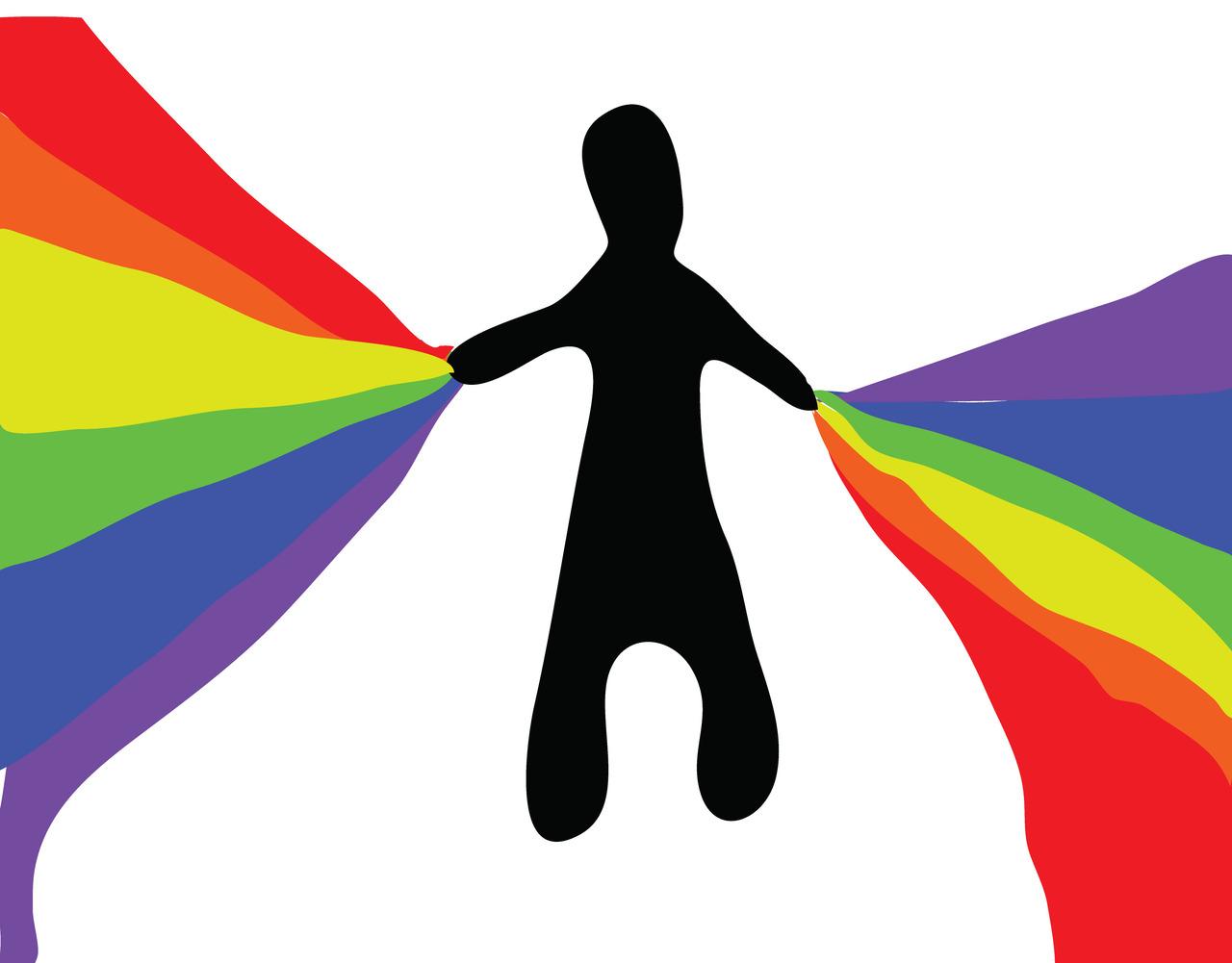 rainbow man    (britt original)