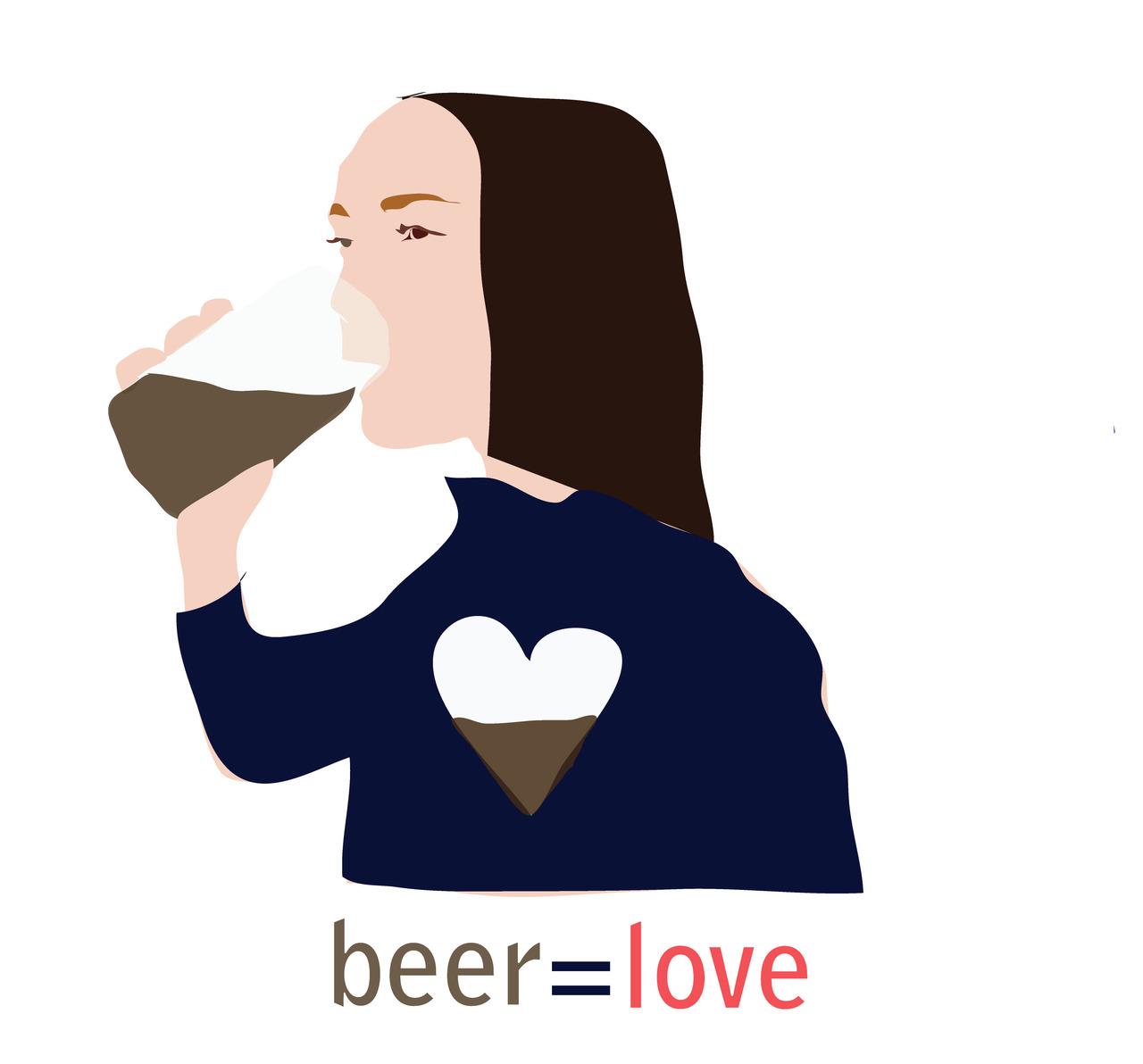 i love beer (britt original)
