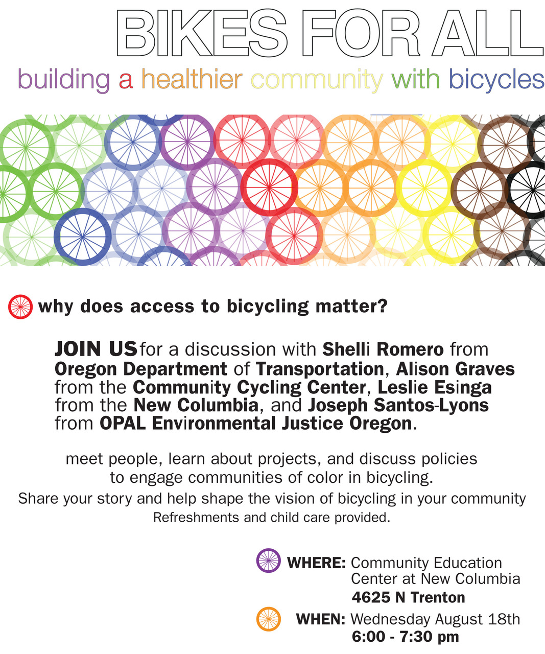this is a poster i'm making for the community cycling center. it's almost done; i'm just having trouble placing their logo.