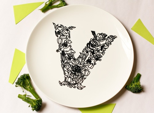 designdecisions :      Where the Lovely Things Are - Home - Lovely Finds - Just Noey       love the plate! not so into the broccoli decor