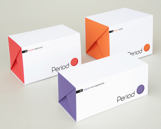 student tampon box designs